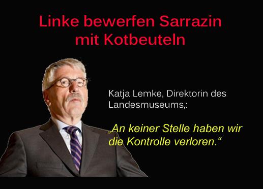Linker Teroor gegen Sarrazin