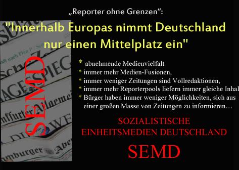 SEMD Sozialistische Einheitsmedien Deutschlands Kopie