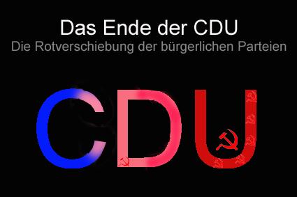 CDU Rotverschiebung