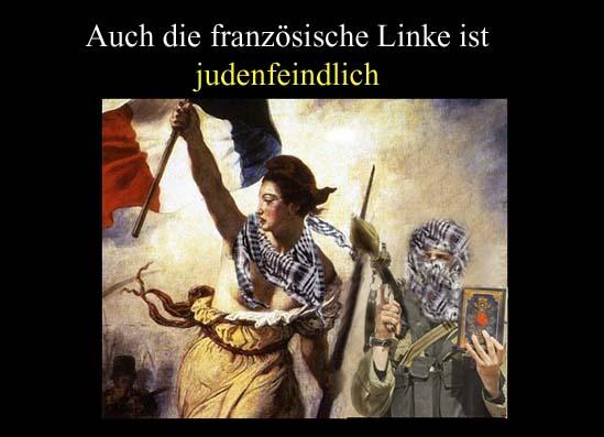 Judenfeindliche Franzosen
