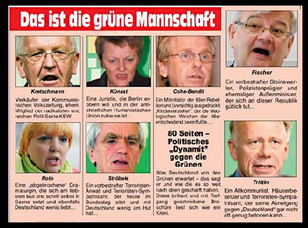 Linksgruene Deutschenfeinde