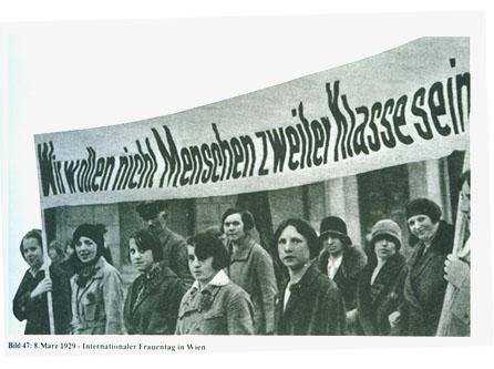 Frauentag Wien 1928
