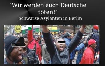 Asylanten Berlin Deutsche toeten