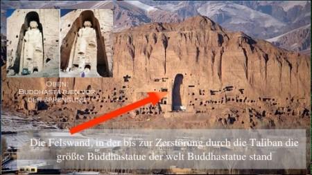 Buddhastatue von Bamian