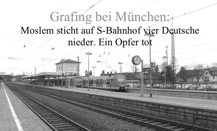 Grafing: Moslem sticht vier (!) deutsche Männer nieder. 56-jähriger ...