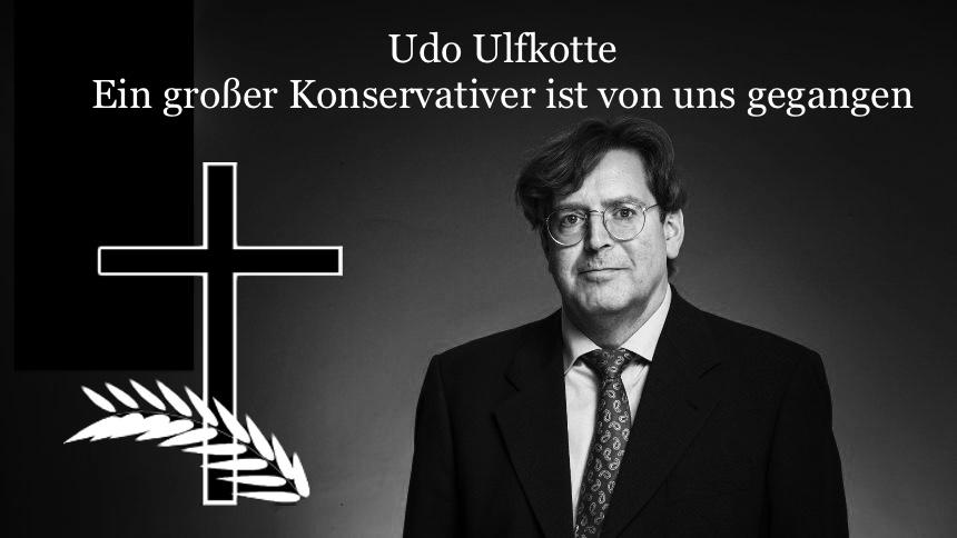 official photos 07e6b 8bf56 Udo Ulfkotte ist tot. Ein großer Konservativer ist von uns ...