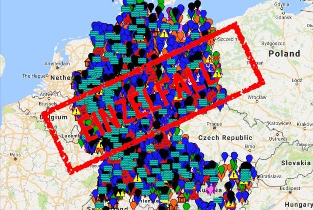 Xy Einzelfall Karte.Xy Einzelfall Bilanz Der Meldungen Vom 12 12 16 Insgesamt 75