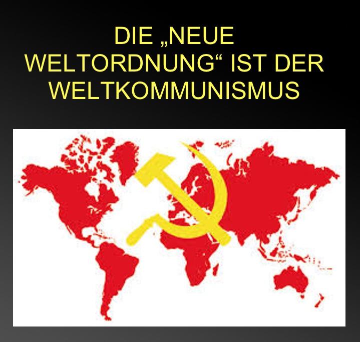 """Ganz und zu Extrem Die """"Neue Weltordnung"""" ist der Weltkommunismus   Michael #WA_71"""