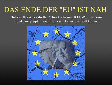 Bildergebnis für Bilder zu Ende der EU