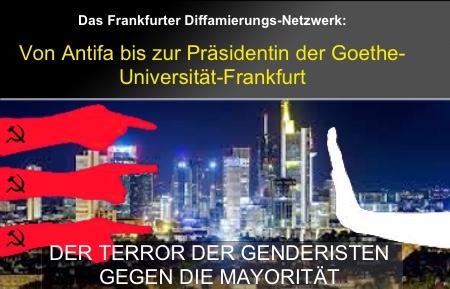 the best attitude 12f5e 84c85 Das linke Diffamierungsnetzwerk am Beispiel Frankfurt